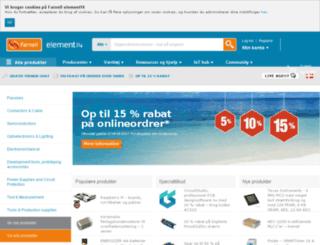 dk.farnell.com screenshot