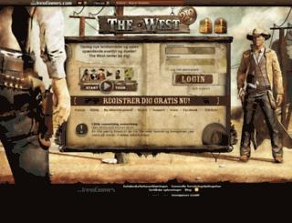 dk4.the-west.dk screenshot
