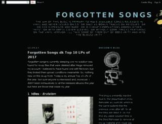 dkandroughmix-forgottensongs.blogspot.com screenshot