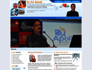 dkbaruah-cardiology.com screenshot