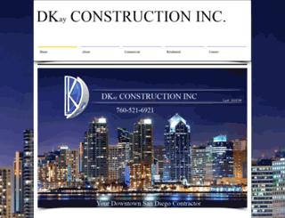 dkconstructionservices.com screenshot