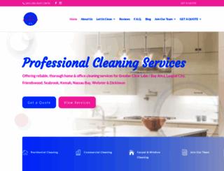 dkdustbusters.com screenshot