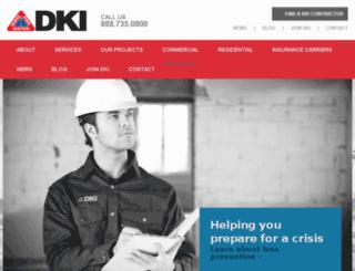 dki.mighty-site.com screenshot