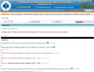 dkmh2.cntp.edu.vn screenshot