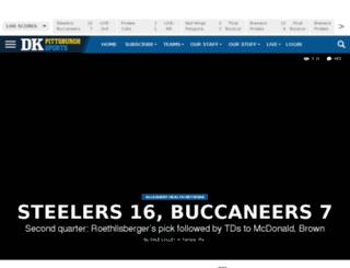 dkonpittsburghsports.com screenshot