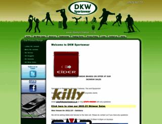 dkwsportswear.co.uk screenshot