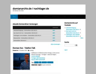 dl.domianarchiv.de screenshot