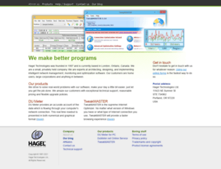 dl.hageltech.com screenshot