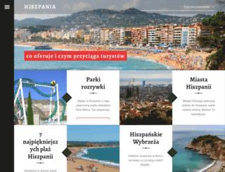 dlaczegohiszpania.pl screenshot