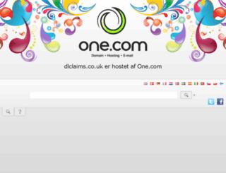 dlclaims.co.uk screenshot