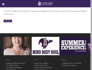 dlcs.lipscomb.edu screenshot