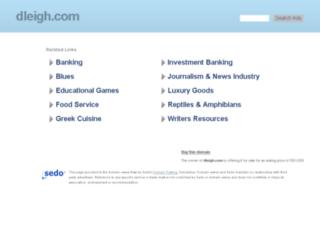 dleigh.com screenshot