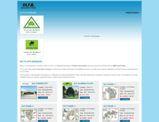 dlfplotsgurgaon.net screenshot