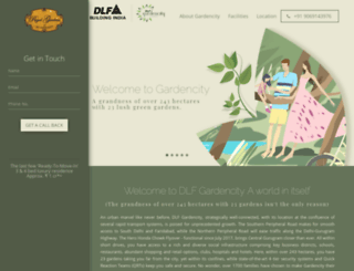 dlfregalgardens.in screenshot