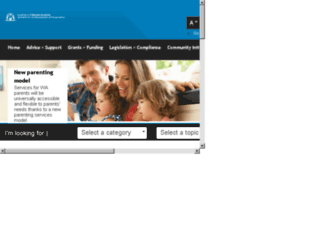 dlg.wa.gov.au screenshot