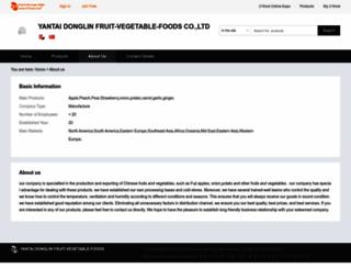 dlgs.21food.com screenshot