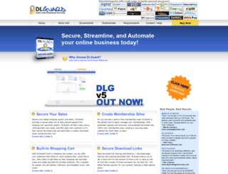 dlguard.com screenshot