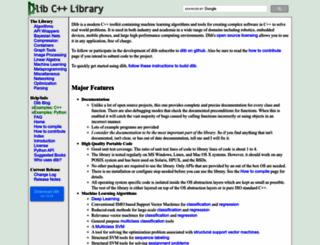 dlib.net screenshot