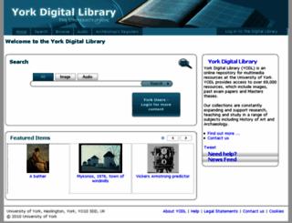 dlib.york.ac.uk screenshot