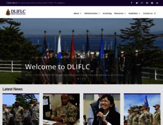 dliflc.edu screenshot