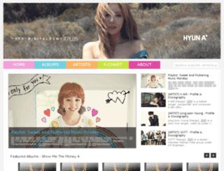 dlkpopalbum.blogspot.com screenshot