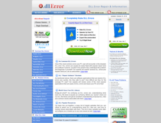 dll-error.com screenshot