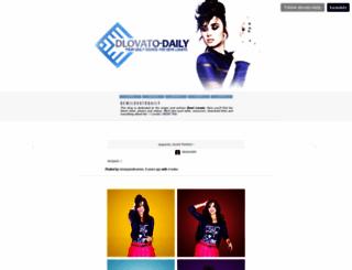 dlovato-daily.tumblr.com screenshot