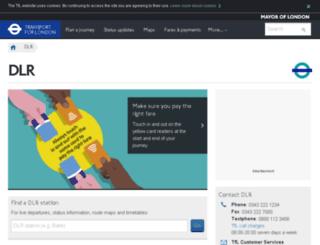 dlr.co.uk screenshot
