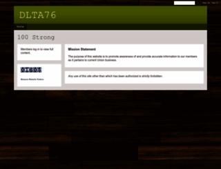dlta76.ning.com screenshot