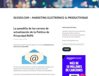 dlvseo.com screenshot