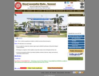 dlw.indianrailways.gov.in screenshot
