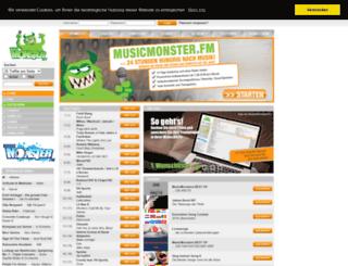 dmax.musicmonster.fm screenshot