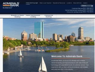 dmc.admiralsbank.com screenshot