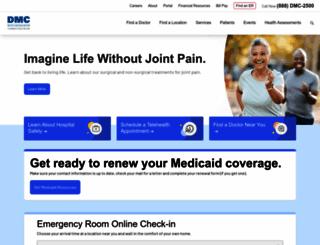 dmc.org screenshot