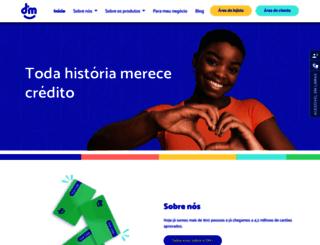 dmcard.com.br screenshot