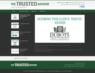 dmccarty.thetrustedadvisor.us screenshot