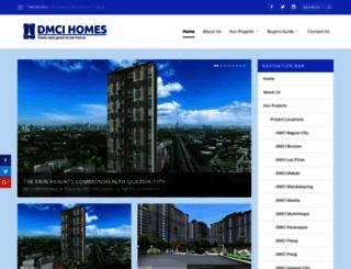 dmci-condos.com screenshot