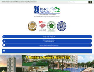 dmcihomesresidences.com screenshot
