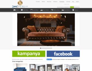 dmcmobilya.com screenshot