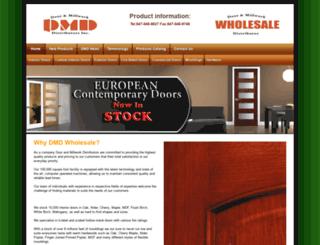 dmddistributors.com screenshot