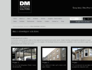 dmdevelopersolutions.co.uk screenshot