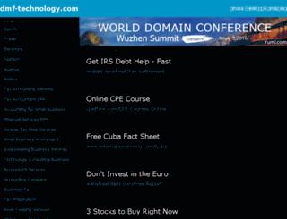 dmf-technology.com screenshot