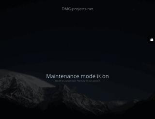 dmg-projects.com screenshot