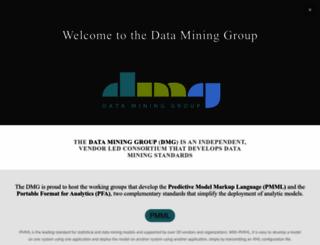 dmg.org screenshot