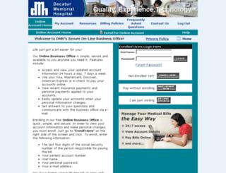 dmh.patientcompass.com screenshot