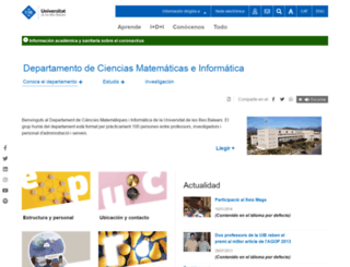 dmi.uib.es screenshot