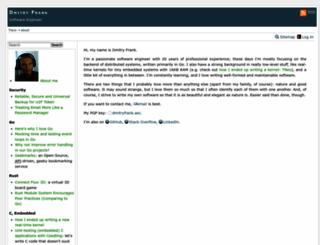 dmitryfrank.com screenshot