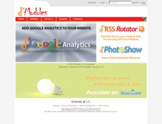 dmodules.com screenshot