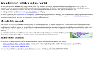 dmoz.de screenshot