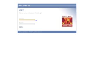 dms.madurafnl.com screenshot